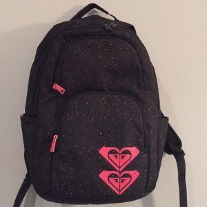 Roxy backpack, laptop bag, back pack